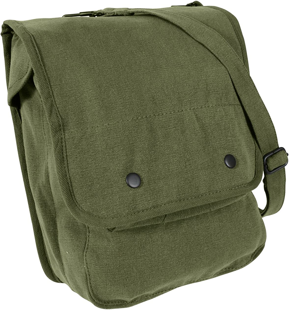 Rothco Canvas Map Case Shoulder Bag, Olive Drab: Sports & Outdoors