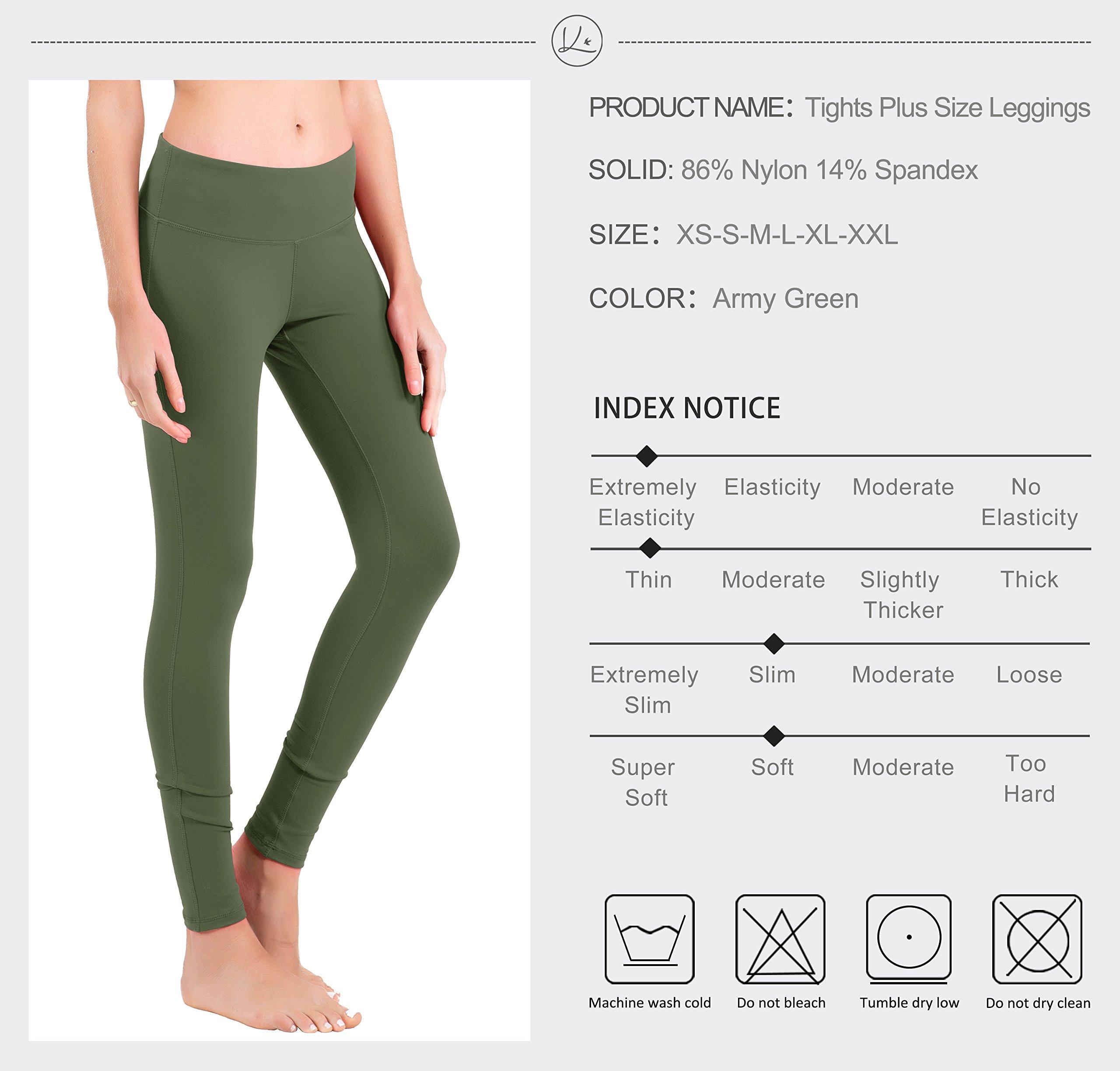 5be19bb846 Queenie Ke Women High Waist Hidden Pockets Sport Legging Yoga Pants Running  Tights Size M Color Army Green < Leggings < Sports & Outdoors - tibs
