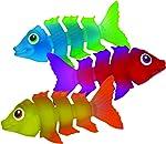 SwimWays Fish Styx Pool Diving Toys - Sinking Fish-Shaped Swim Toys
