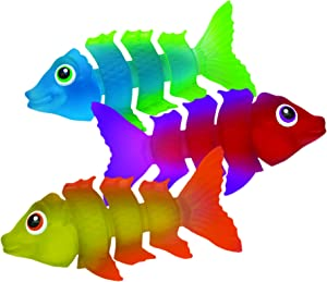 SwimWays Fish Styx Pool Diving Toys - Sinking Fish-Shaped Swim Toys - Pack of 3