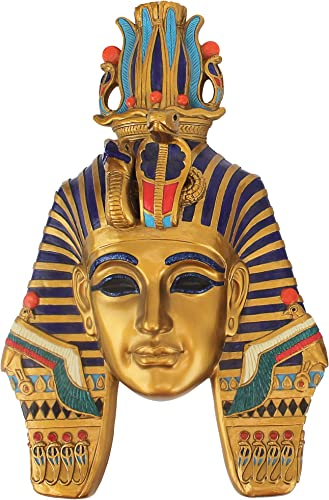 Design Toscano Mask of Egyptian Royalty Mighty Pharaoh Wall Sculpture