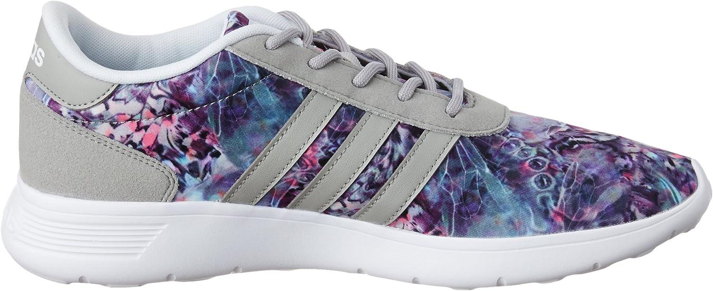 adidas Lite Racer W Sneaker Basses Femme Blanc Cassé (Ftwbla/Onicla/Plamat)