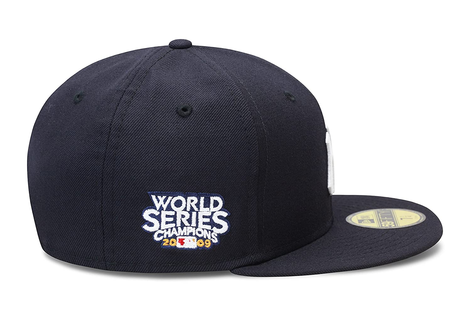 05ec9e65 New Era New York Yankees Fitted Hat Cap 2009 World Series Patch at ...