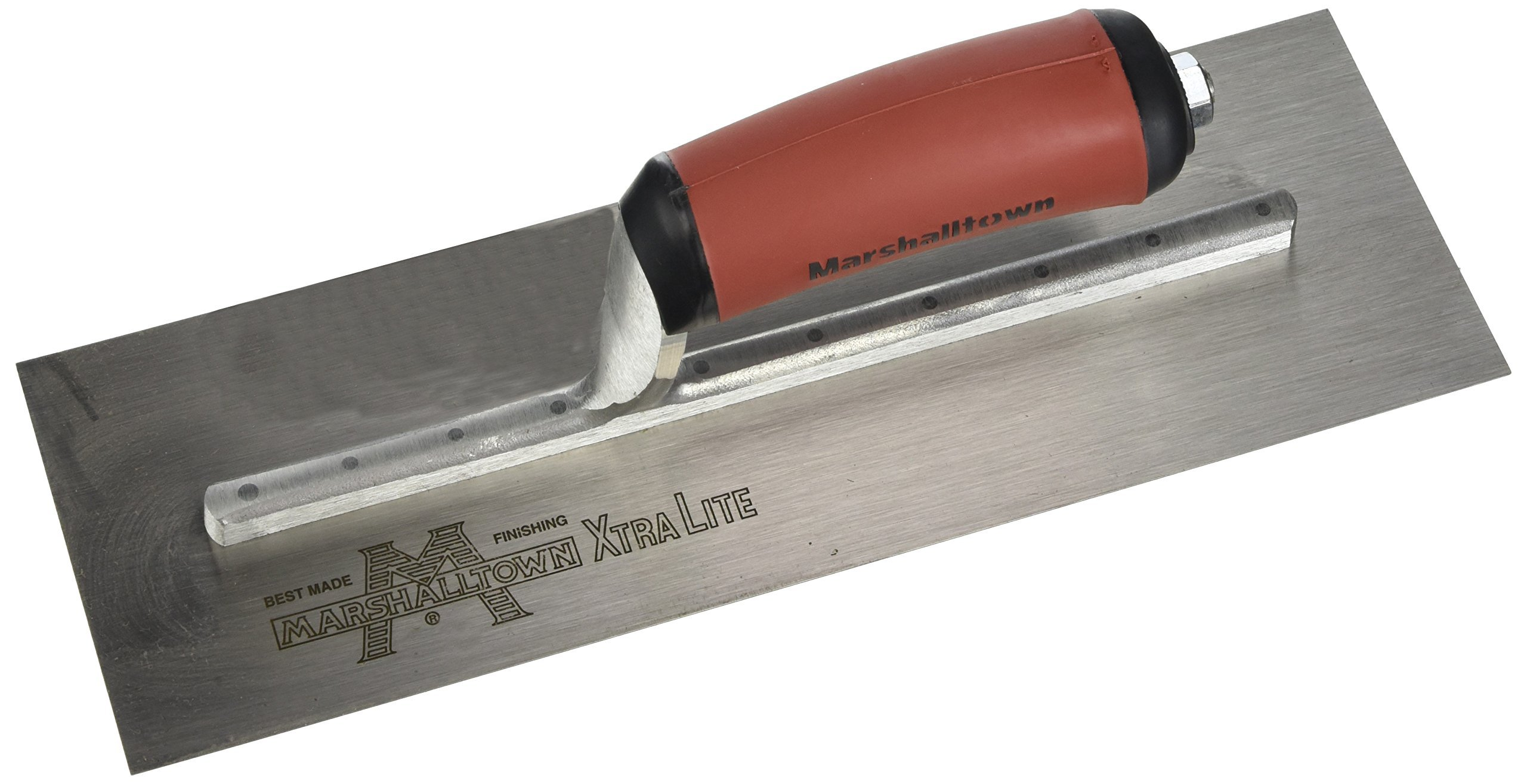 MARSHALLTOWN The Premier Line MXS62D 12-Inch by 4-Inch Finishing Trowel with Curved DuraSoft Handle