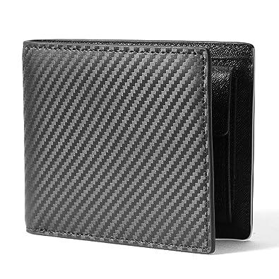 0c1fd764c781 Amazon | SENROKES 二つ折り 財布,財布 メンズ ふたつおり 高級 財布 ...