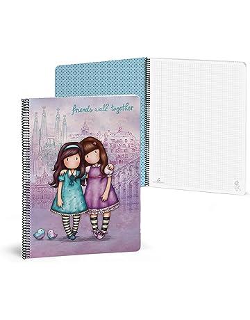 Gorjuss 20852049900 - Libreta con 80 hojas, A4, color violeta