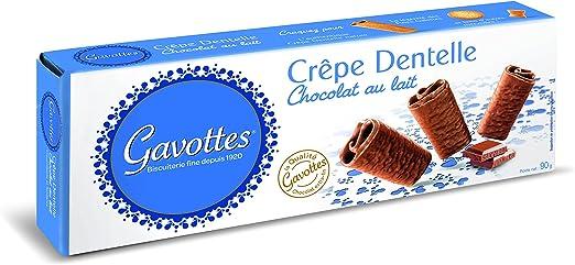 Gavottes - Crêpe Chocolate Con Leche 90 g: Amazon.es ...