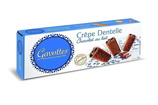 Gavottes - Crêpe Chocolate Con Leche - 90 g
