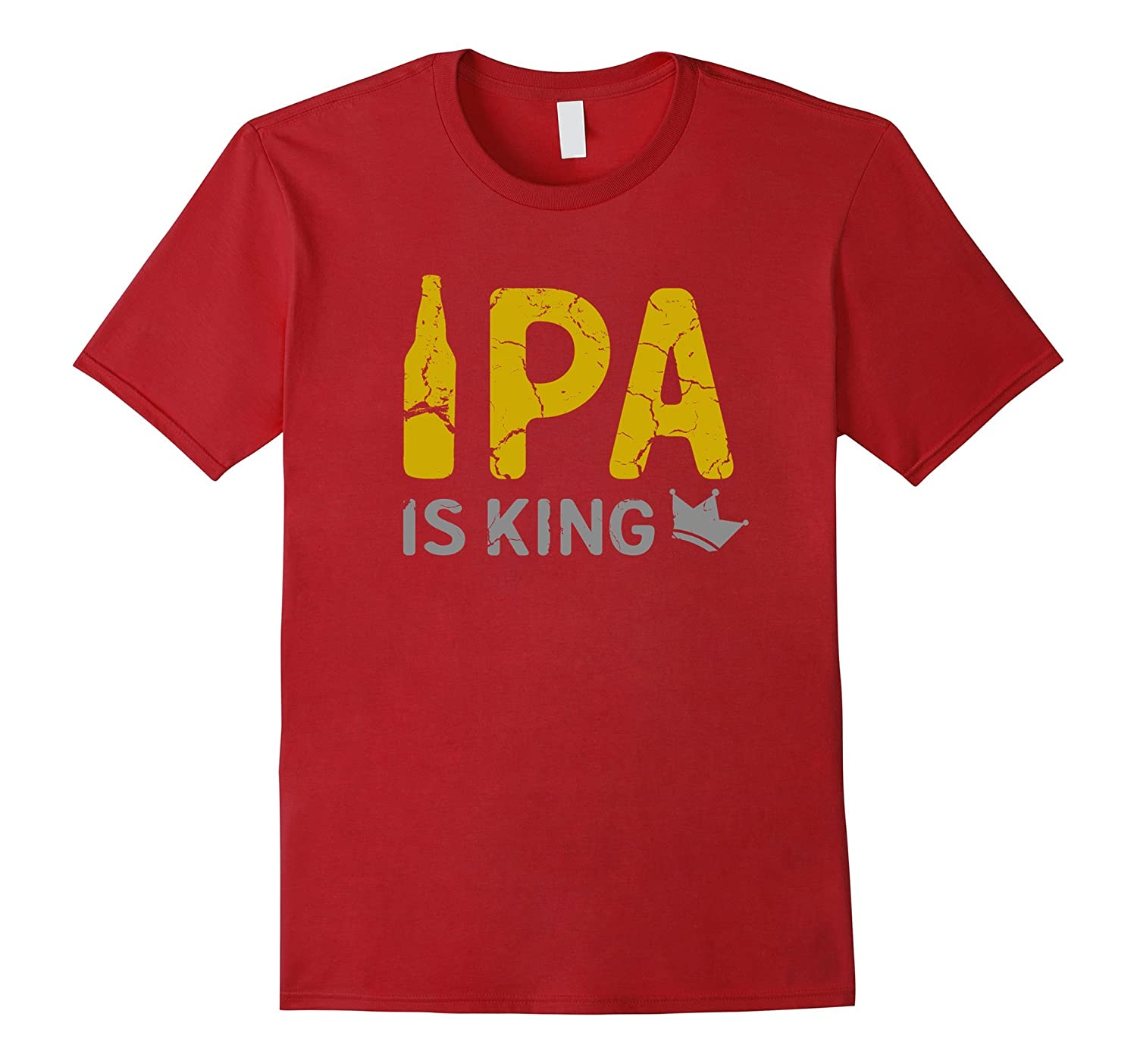 IPA is King Shirt - Vintage Beer IPA T Shirt-Art