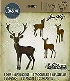 Sizzix SIZ662426 Thinlits Die Set 662426, Winter