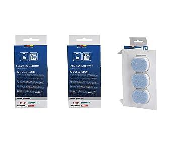 2 x Bosch TZ80002 Entkalkungstabletten für Kaffeevollautomaten 311821 00311821