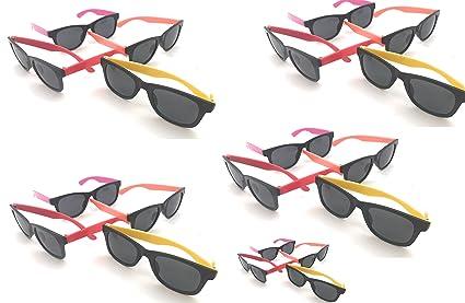 bf7b9c73c2 Amazon.com  Oojami 24 Pack 80 s Style Neon Party Sunglasses - Fun ...