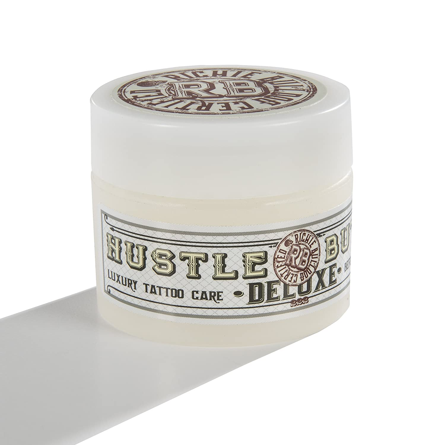 Hustle Butter Deluxe - Vegan Tattoo Care - 30ml (1oz) Tub HB-361-1OZ