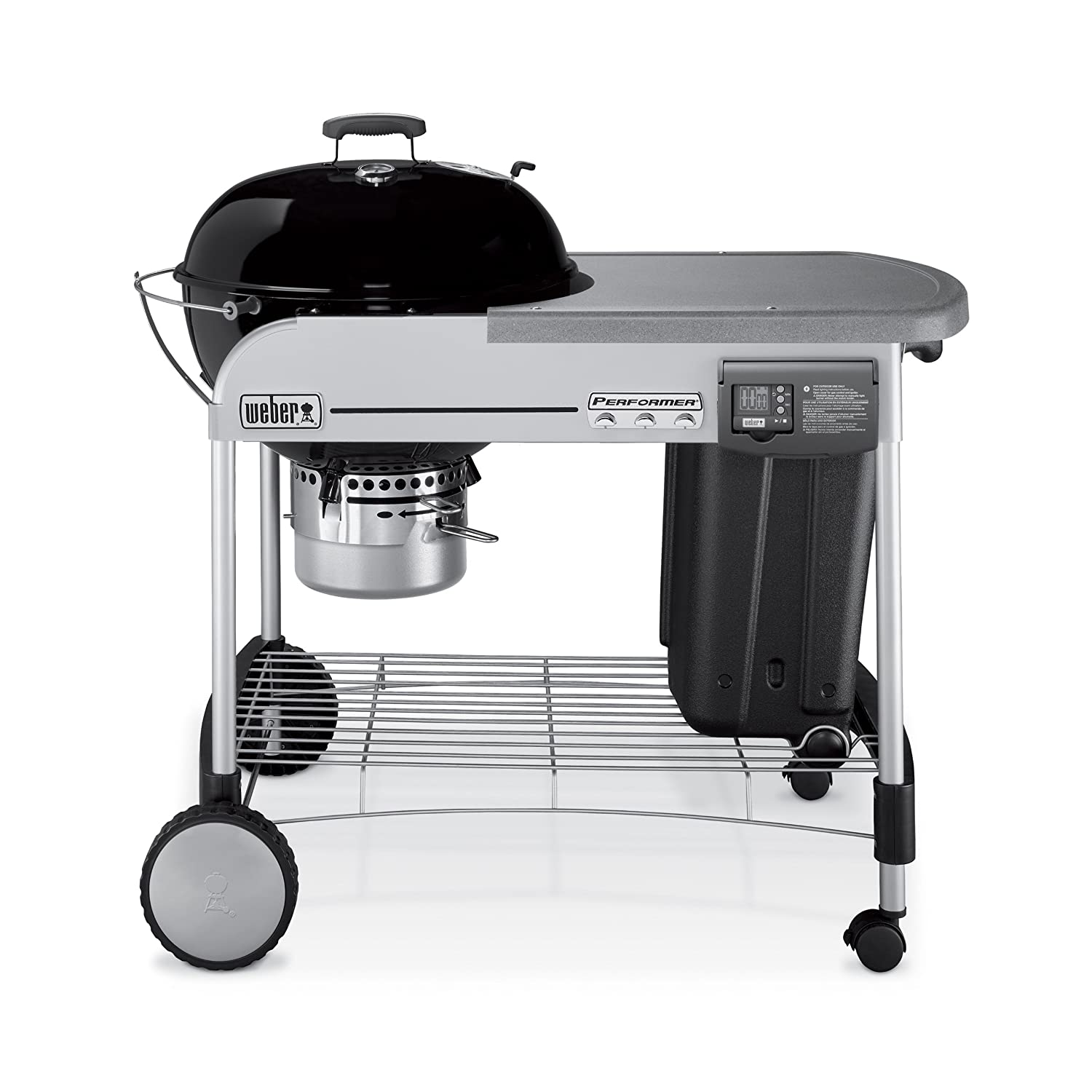 Amazon.com : Weber 1481001 Performer Platinum Charcoal Grill ...