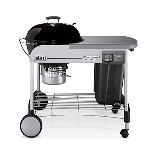 Weber 1481001 Performer Platinum Charcoal Grill
