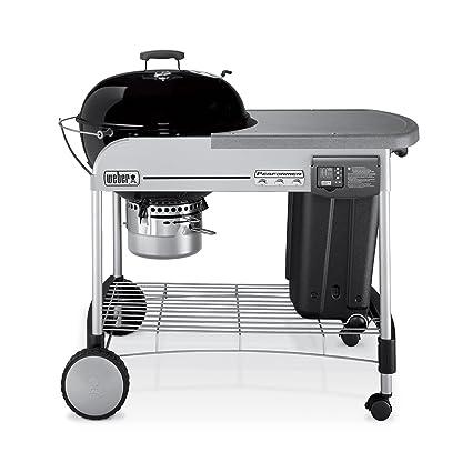 Weber 1481001 Performer Platinum Charcoal Grill Black Older Model