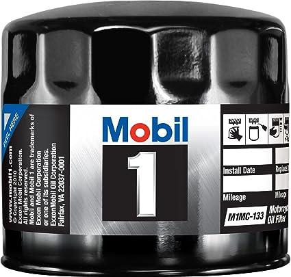 Mobil 1 - Filtro de Aceite para Motocicleta: Amazon.es: Coche y moto
