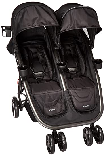 Combi Lightweight Double Unique Travel System Full Size Twin Umbrella Stroller Compatible With The