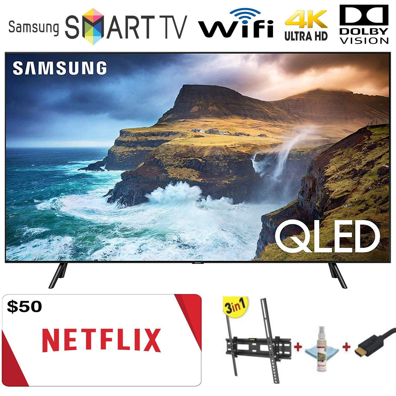 Samsung QN65Q70RAFXZA Flat 65 QLED 4K Q70 Series (2019 ...