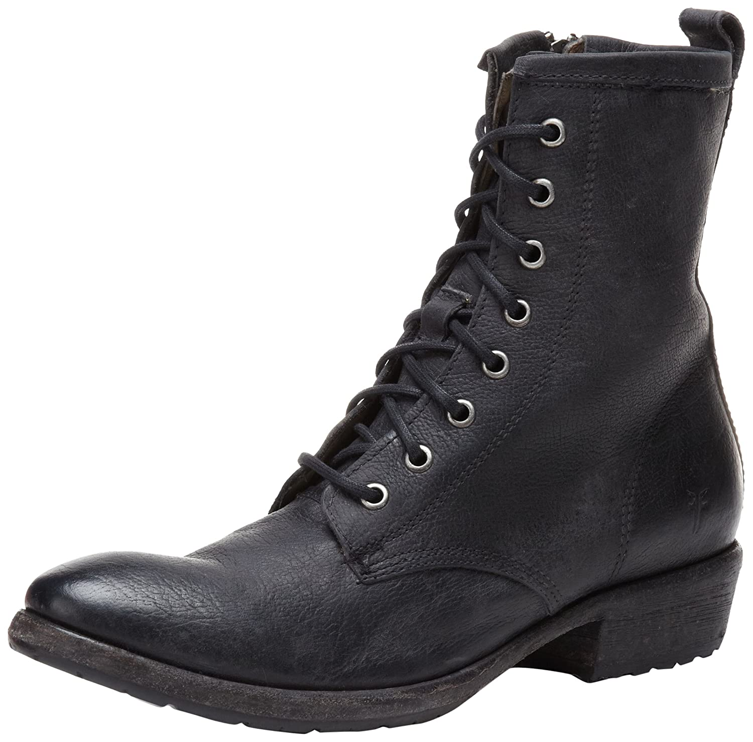 7cd49bff84d Frye Womens Carson Lug Lace-up Ankle Boot Combat Boot