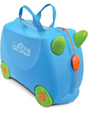Trunki Ride-On Suitcase, Terrance Blue