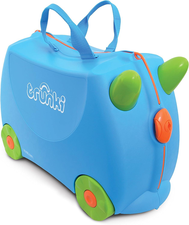 Trunki Maleta correpasillos y equipaje de mano infantil: Terrance (Azul)