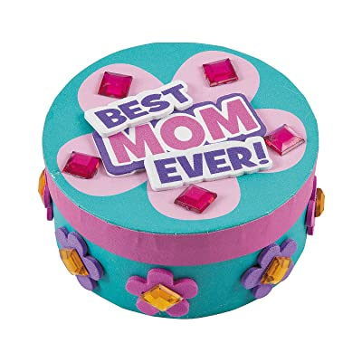 Mother's Day Jewel Box Craft Kit -12 - Crafts for Kids and Fun Home Activities: Toys & Games