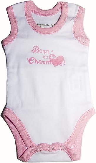 Pack de 5 Bodys para bebé recién Nacida Talla 0-1 Mes: Amazon.es ...