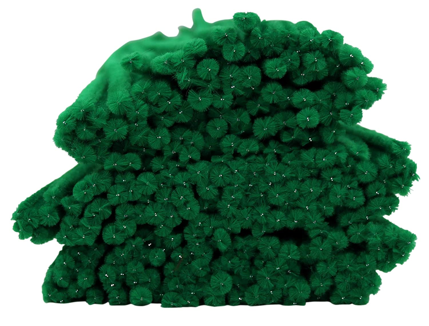 300-Count Green Iconikal Pipe Cleaners Craft Chenille Stems