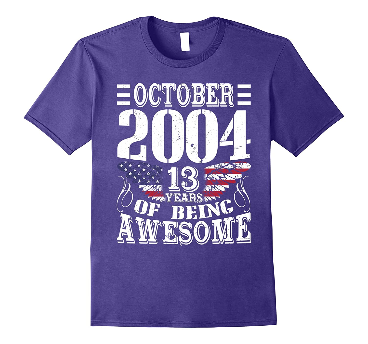 Legends Born In OCTOBER 2004 Gift 13 Yrs Years Old Awesome-TJ