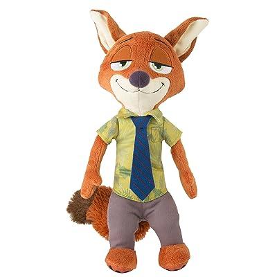 Zootopia Talking Plush Nick Wilde: Toys & Games