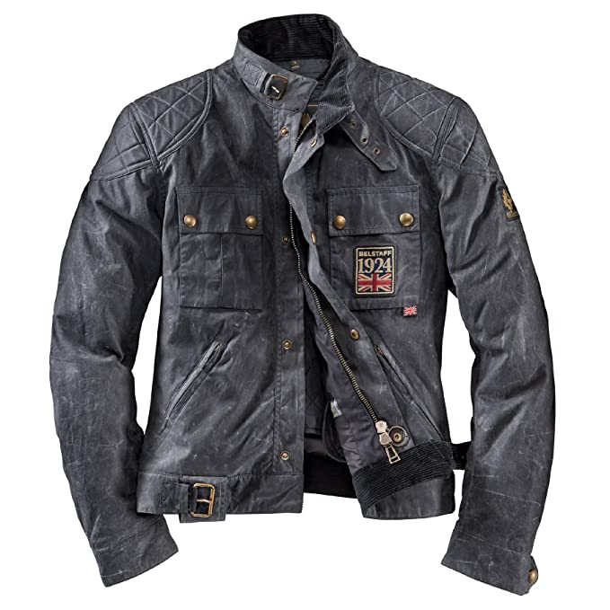 Belstaff Chaqueta Jubilee Brook Lands Black: Amazon.es: Ropa ...