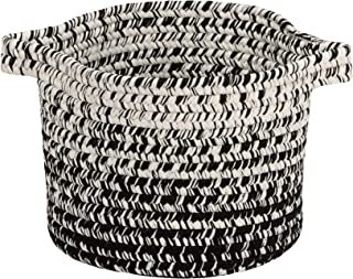 """product image for Colonial Mills Monet Ombre Basket, 12""""x12""""x10"""", Black & White"""
