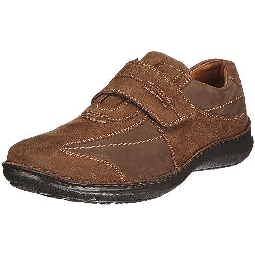 Josef Seibel Schuhfabrik GmbH Alec 43332 921 340 - Mocasines de cuero para hombre, color marrón, talla 44