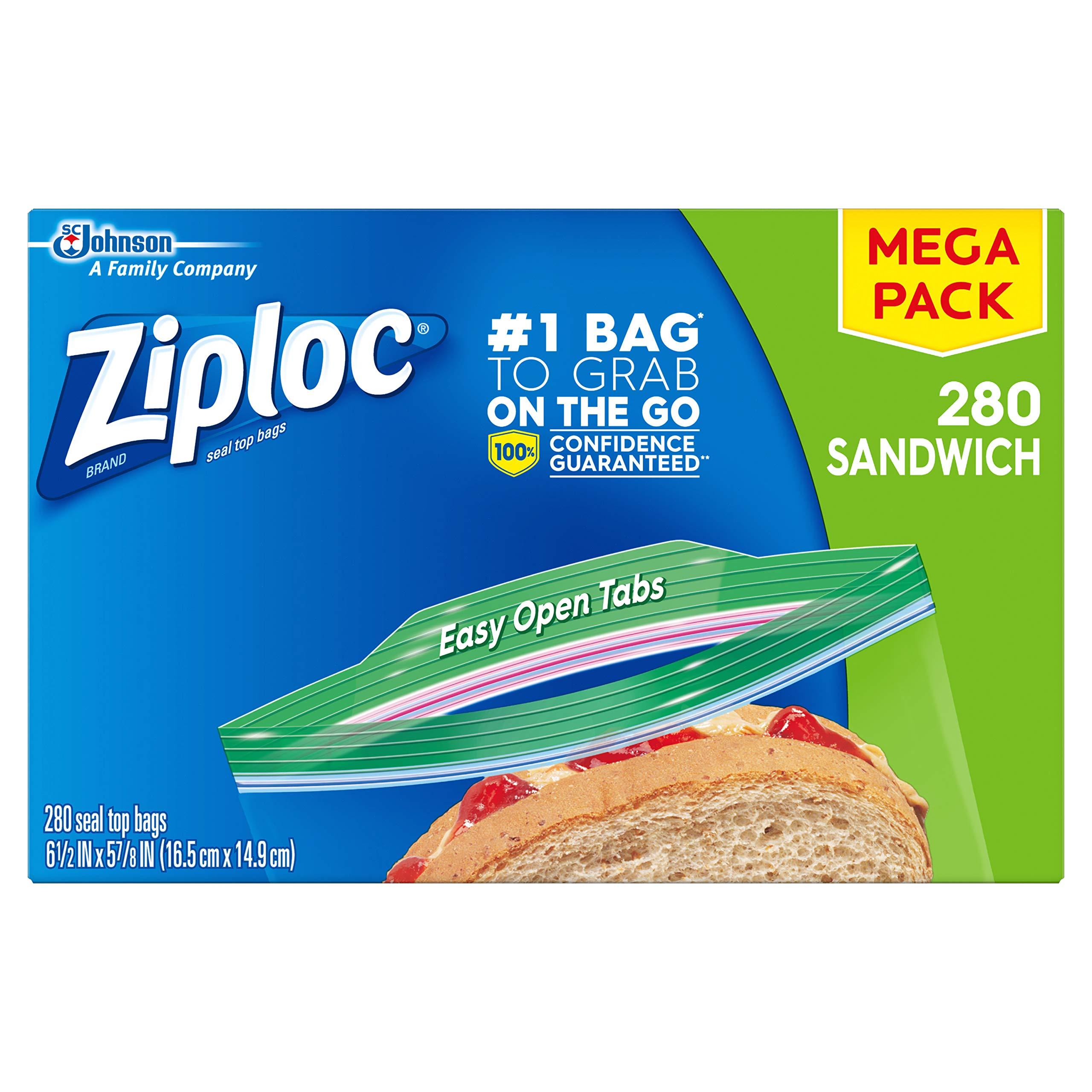 Amazon Com Ziploc Snack Bags 280 Ct Health Amp Personal Care