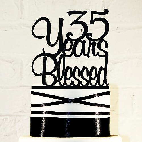 Amazon 35th Birthday Cake Topper