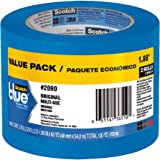 ScotchBlue Painter's Tape, Multi-Use, 1.88-Inch by 60-Yard, 2 Rolls