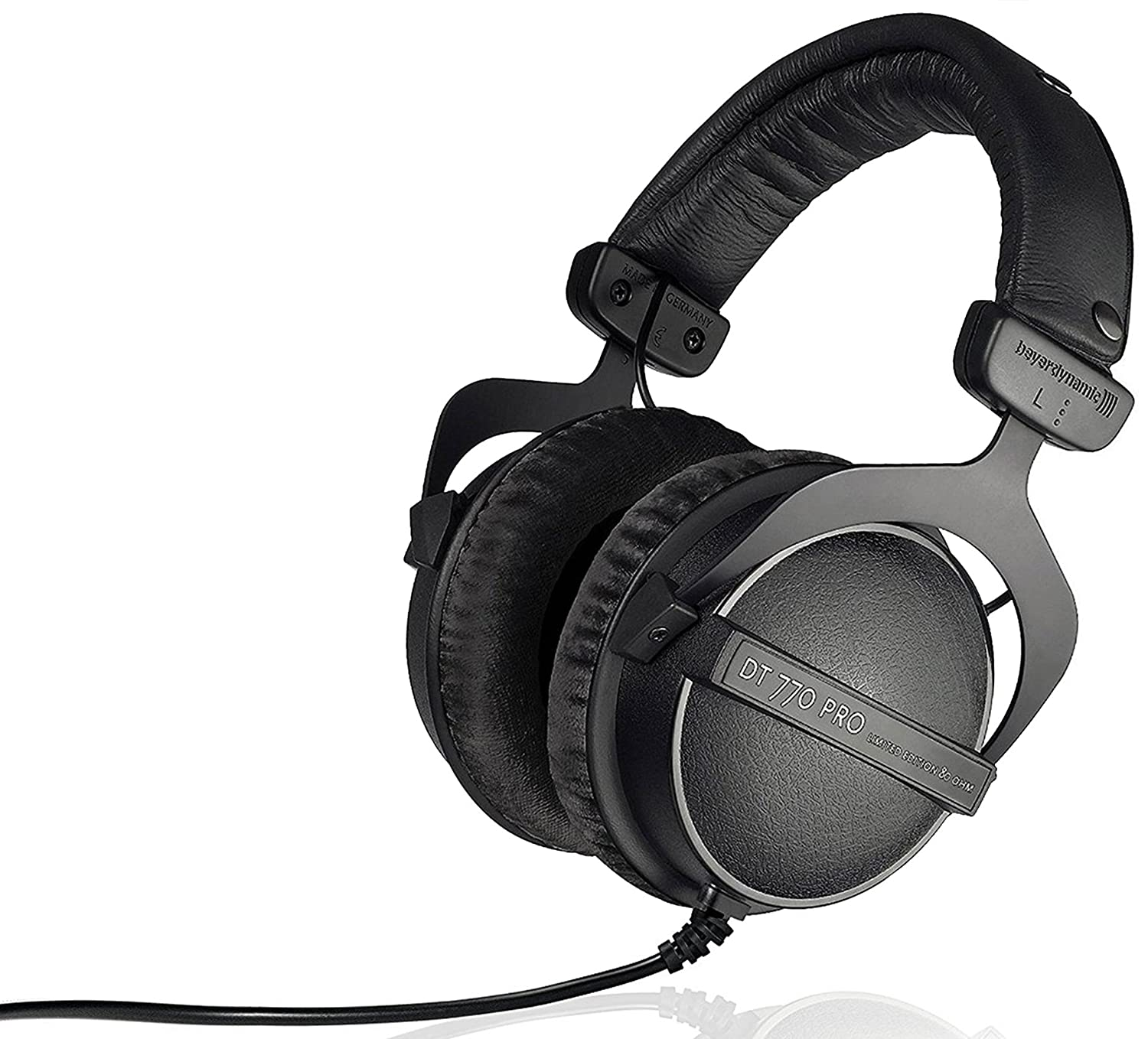 Beyerdynamic DT 770 Pro 80 ohm Limited Edition Professional Studio Headphones DT 770 PRO 80 OHM LE BLACK