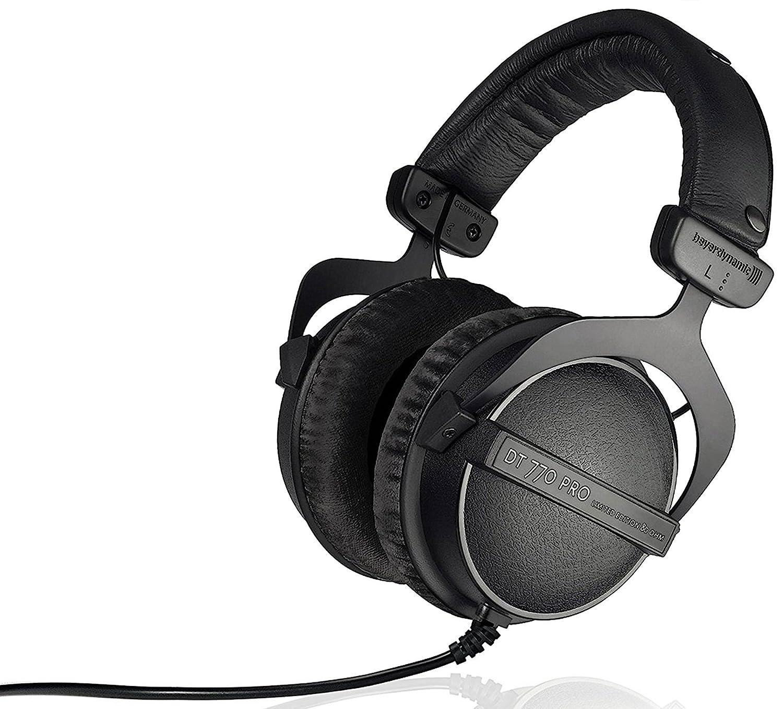beyerdynamic DT 770 Pro 250 ohm Limited Edition Professional Studio Headphones DT 770 Pro - 250 Ohm Black