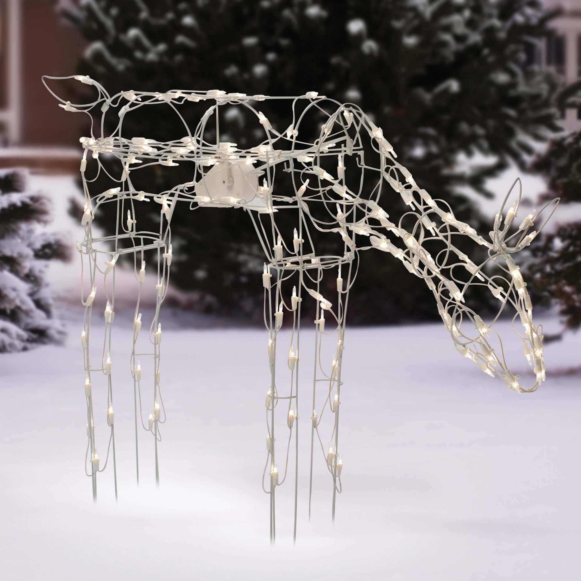 Holiday Time Feeding Doe 28'' Christmas Lighted Yard Decor