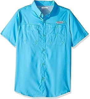 bb77a1ba4 Amazon.com   Columbia Youth Boys PFG Bonehead Short Sleeve Shirt ...