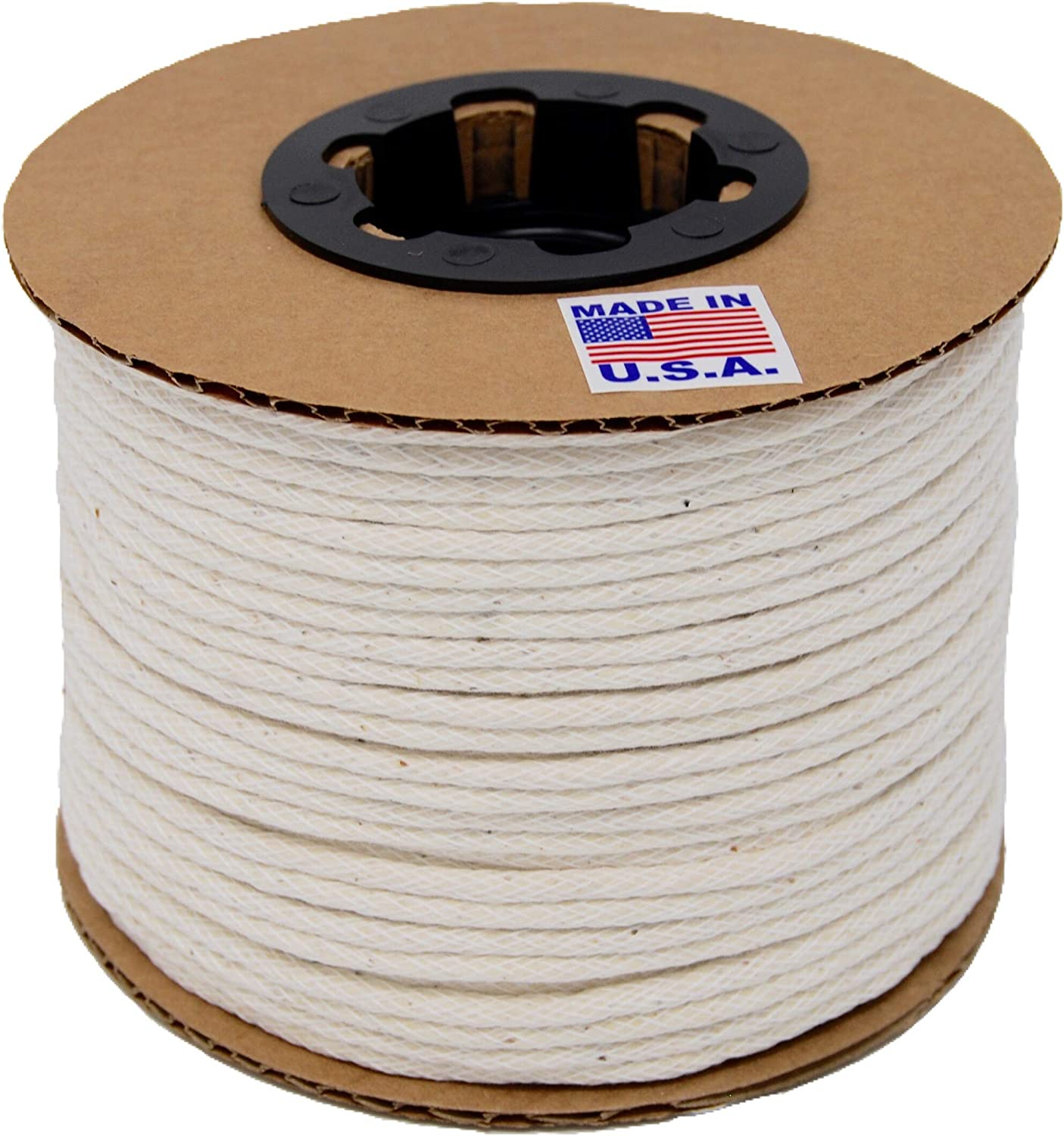 6//32 250 Yards//Spool #1-3//16 Cotton Piping Welt Cord Made in USA