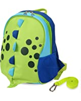 Yodo Upgraded Kids Insulated Toddler Backpack with Safety Harness Leash and Name Label - Playful Preschool Kids Lunch Bag, Dinosaur