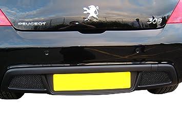 Zunsport Compatible Peugeot 308 - Conjunto Completo de Parrillas - Acabado Negro (2008-2010): Amazon.es: Coche y moto