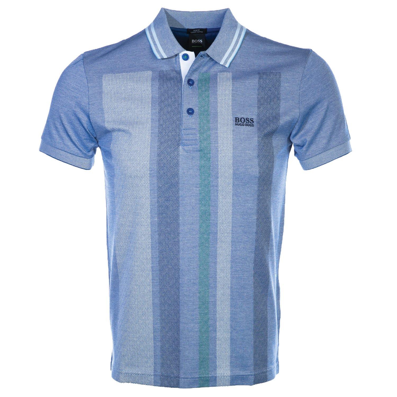 Amazon.com: Hugo Boss Boss Paule 7 Polo Shirt In Blue: Clothing