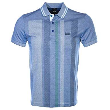 Boss Paule 7 Polo Shirt In Blue M