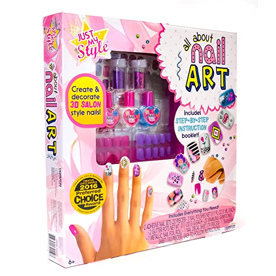 Amazon.com: Just My Style All about Nail Art by Horizon Group USA ...