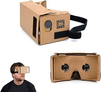 DURAGADGET Gafas de Realidad Virtual VR para Smartphone BQ Aquaris ...