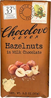 product image for Chocolove XOXO Hazelnuts in Milk Chocolate Bar - 3.2 oz Bar