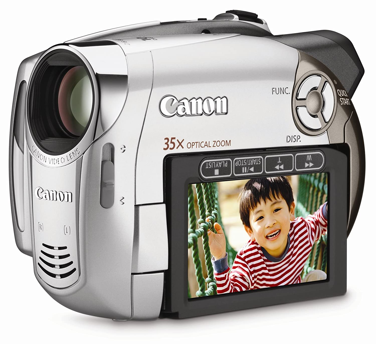 Amazon.com : Canon DC230 1MP DVD Camcorder with 35x Optical Zoom  (Discontinued by Manufacturer) : Camera & Photo